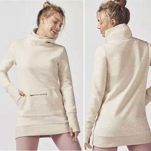 Fabletics Pullover Top Sweatshirts Pocket Zip